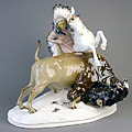 Art Nouveau Meissen porcelain and china